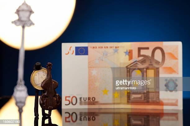 Musiker Geld-Euro