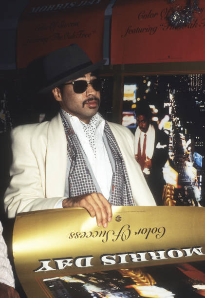 Musician Morris Day of the band The Time poses for a portrait at the album signing for his solo album the Color of Success in Minneapolis, Minnesota...
