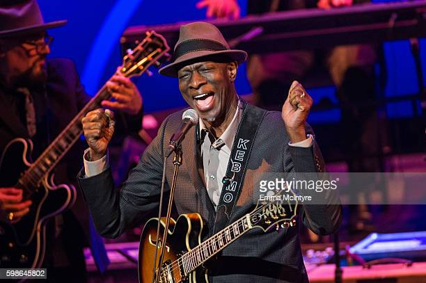 Musician Musician Keb' Mo' performs onstage at Icon The Life And Legacy Of BB King a live tribute concert presented by the GRAMMY Foundation and...