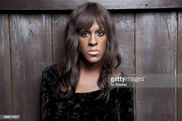 Musician Mykki Blanco is photographed for Out Magazine on August 21 2012 in the Electric Room in the Dream Downtown Hotel in New York City