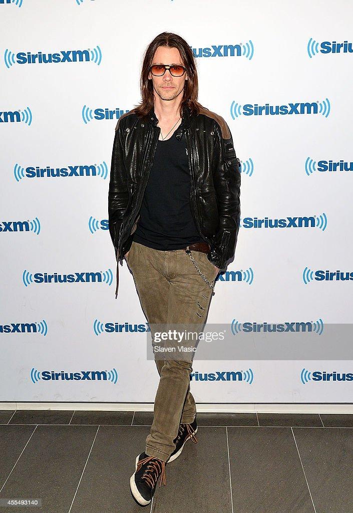 Musician Myles Kennedy visits SiriusXM Studios on September 15, 2014 in New York City.
