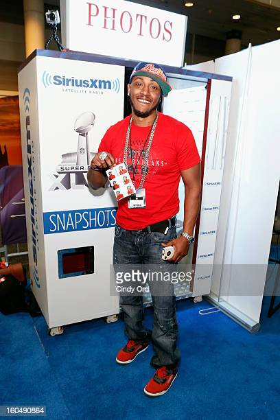 Musician Mystikal attends SiriusXM's Live Broadcast from Radio Row during Bowl XLVII week on February 1 2013 in New Orleans Louisiana