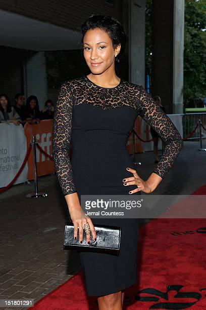 Musician Naadei Lyonnais attends the Venus Serena Premiere during the 2012 Toronto International Film Festival at the Ryerson Theatre on September 11...