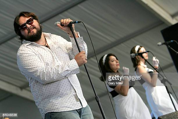 Musician Nakia performs with his backing band Southern Cousins in Zilker Park on the closing day of the Austin City Limits Music Festival on...