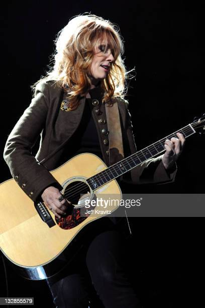 Musician Nancy Wilson performs onstage during 'VH1 Divas Salute the Troops' presented by the USO at the MCAS Miramar on December 3 2010 in Miramar...