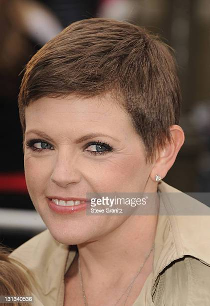 Musician Natalie Maines arrives at the world premiere of 'Pirates of the Caribbean On Stranger Tides' at Disneyland on May 7 2011 in Anaheim...