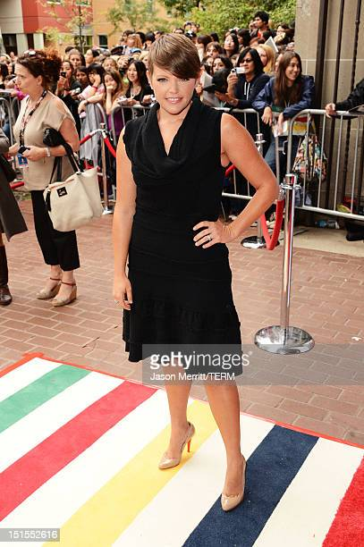 Musician Natalie Maines of the Dixie Chicks attends the West Of Memphis premiere during the 2012 Toronto International Film Festival at Ryerson...