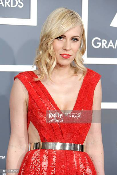 Musician Natasha Bedingfield attends the 55th Annual GRAMMY Awards at STAPLES Center on February 10 2013 in Los Angeles California