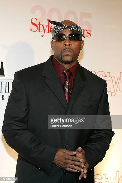 Musician Nate Dogg arrives at Life & Style Magazine's Stylemakers 2005, a runway show and charity auction held at Montmartre Lounge on May 26, 2005...