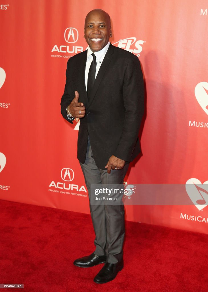 Musician Nathan East attends MusiCares Person of the Year honoring Tom Petty at the Los Angeles Convention Center on February 10, 2017 in Los Angeles, California.