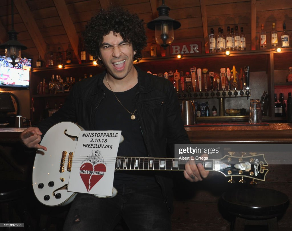 Musician Nazim Chambi performs at the Indie Musicians Concert for Free2Luv.org #UNSTOPPABLE 3.10.2018 Movement, working to raise self-esteem for under-served girls, presented by Monarch PR and TMC held at State Social House on February 20, 2018 in West Hollywood, California.