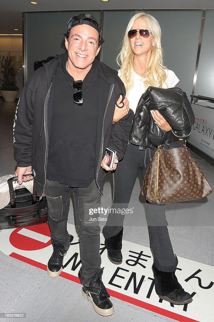 Neal Schon And Michaele Salahi Arrive In Tokyo