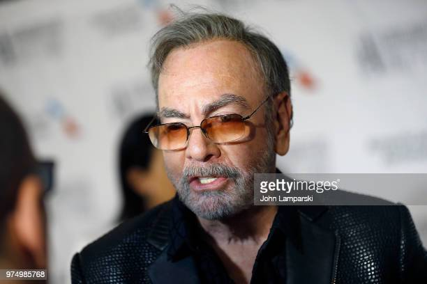 Musician Neil Diamond attends 2018 Songwriter's Hall of Fame Induction and Awards Gala at New York Marriott Marquis Hotel on June 14 2018 in New York...