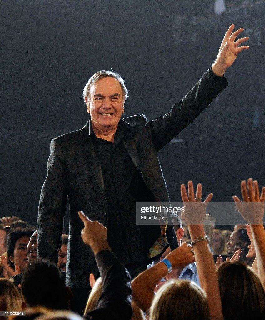 Musician Neil Diamond performs onstage during the 2011 Billboard Music Awards at the MGM Grand Garden Arena May 22, 2011 in Las Vegas, Nevada.