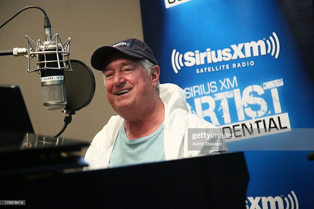 Musician Neil Sedaka performs at 'SiriusXM's 'Artist Confidential' hosted by Cousin Brucie at SiriusXM Studios on July 11, 2013 in New York City.