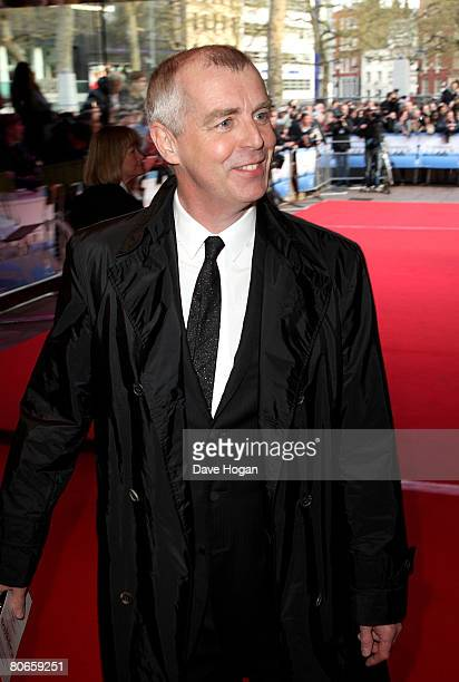 Musician Neil Tennant arrives at the UK premiere of 'Flashbacks of a Fool' at the Empire cinema Leicester Square on April 13 2008 in London England