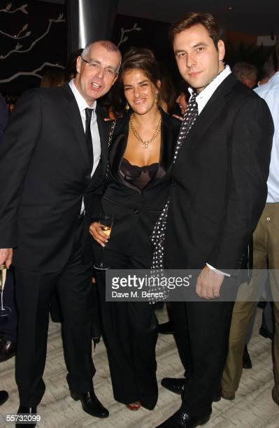 Musician Neil Tennant, artist Tracey Emin and actor/musician David Walliams attend the 20th Anniversary Party for shoe designer Patrick Cox at Nobu,...