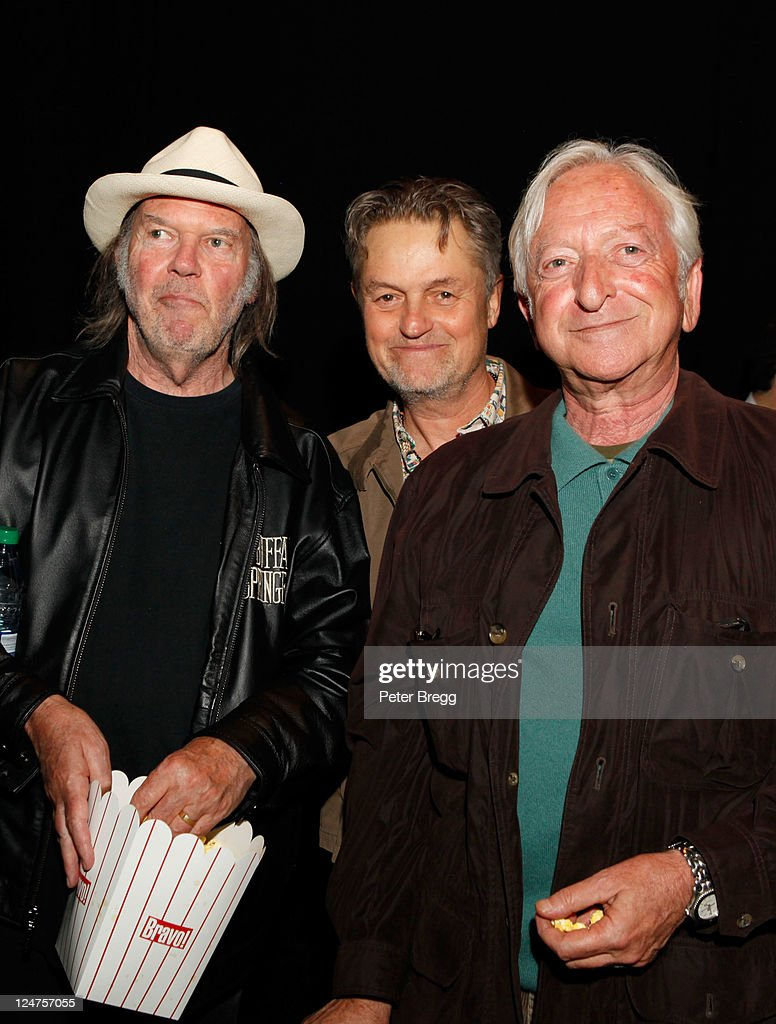 """Neil Young Life"" Premiere - 2011 Toronto International Film Festival : News Photo"