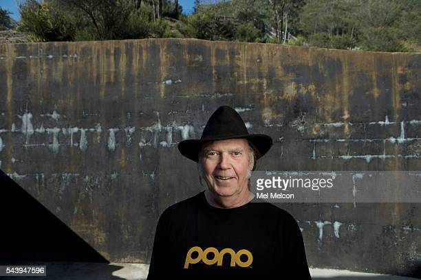 Musician Neil Young is photographed for Los Angeles Times on May 18 2016 in Los Angeles California PUBLISHED IMAGE CREDIT MUST READ Mel Melcon/Los...