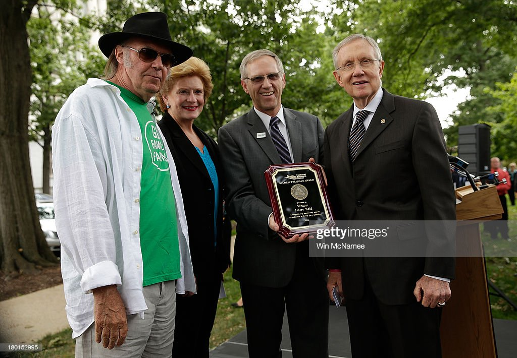 Harry Reid, Nat'l Farmers Union, Neil Young Voice Support For 5-Year Farm Bill