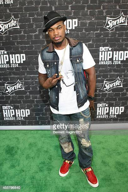 Musician NeYo attends the BET Hip Hop Awards 2014 presented by Sprite at Boisfeuillet Jones Atlanta Civic Center on September 20 2014 in Atlanta...