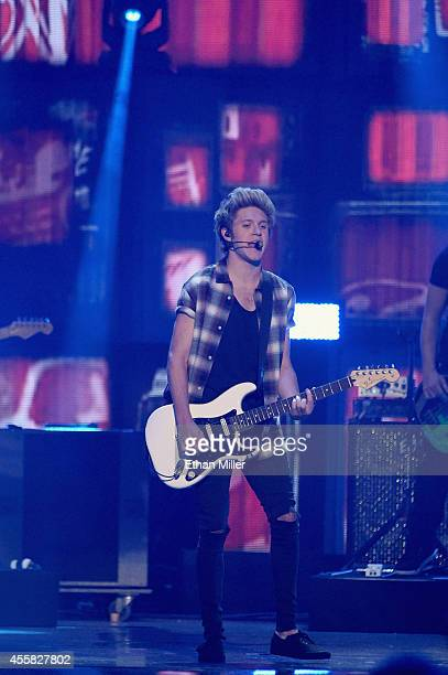 Musician Niall Horan of One Direction performs onstage during the 2014 iHeartRadio Music Festival at the MGM Grand Garden Arena on September 20 2014...
