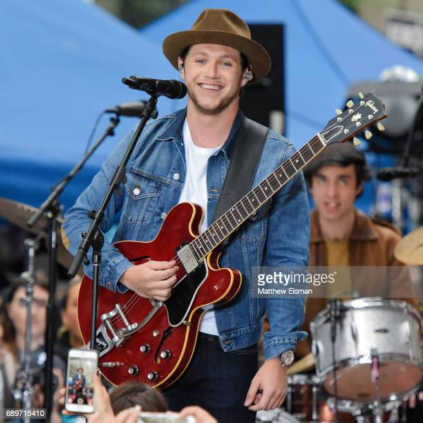 Musician Niall Horan performs live on NBC's 'Today' Show at Rockefeller Plaza on May 29 2017 in New York City