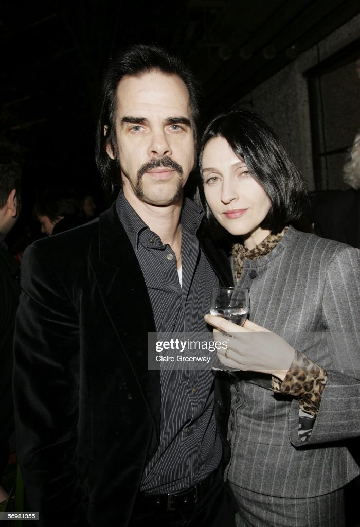 Musician Nick Cave and his wife Susie Bick attend the opening gala screening of 'The Proposition' as part of The London Australian Film Festival, the annual antipodean cinema celebration taking place in London until March 12, at the Barbican Cinema on March 2, 2006 in England.