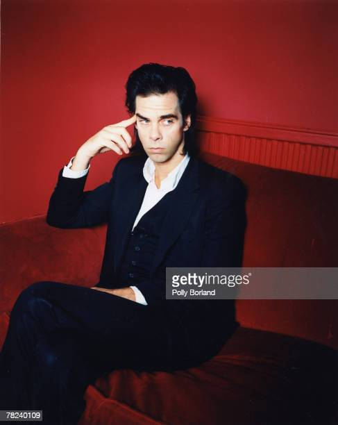 Musician Nick Cave poses for a portrait shoot in London 22nd May 2000