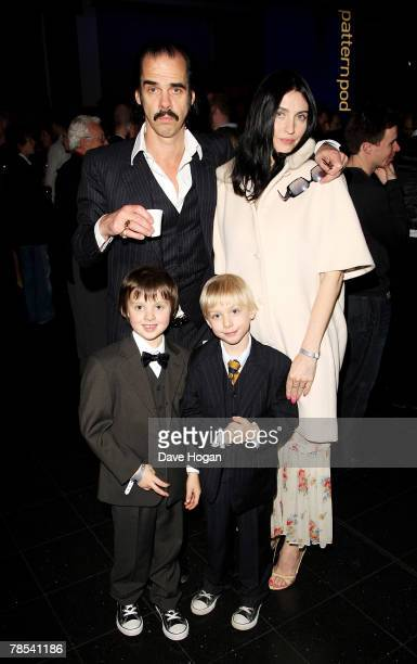 Musician Nick Cave wife Susie Bick and their guests attend the gala screening of the 'Doctor Who' Christmas episode at the Science Museum on December...