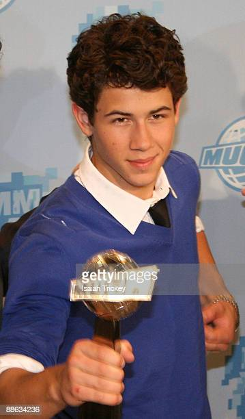 Musician Nick Jonas of Jonas Brothers attends the MuchMusic Video Awards on June 21 2009 in Toronto Canada