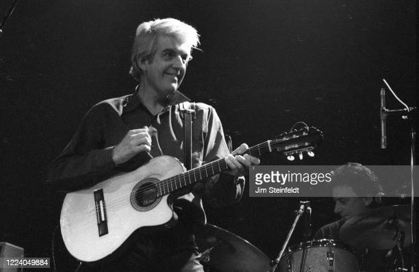Musician Nick Lowe performs at First Avenue nightclub in Minneapolis, Minnesota on February 11, 1995.