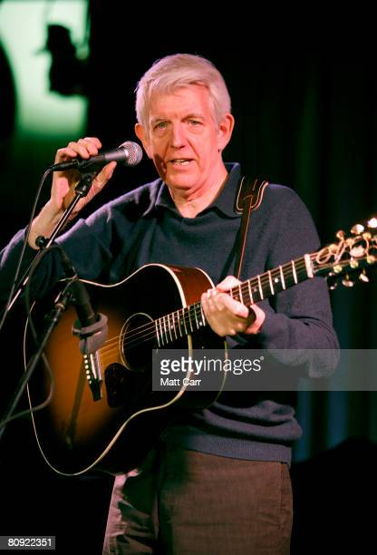 Musician Nick Lowe performs during the Tribeca ASCAP Music Lounge at the 2008 Tribeca Film Festival on April 29 2008 in New York City