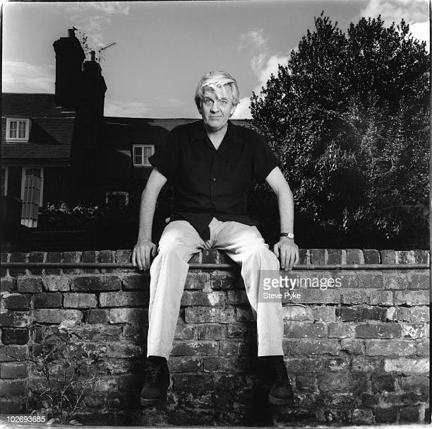 Musician Nick Lowe poses for a portrait shoot in London UK