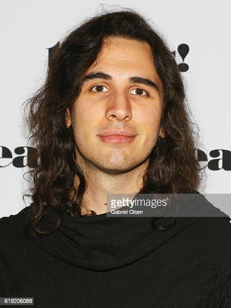 Musician Nick Simmons attends Trick or treats The 6th Annual treats Magazine Halloween Party Sponsored by Absolut Elyx on October 29 2016 in Los...