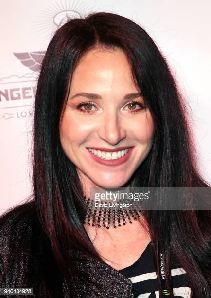 Musician Nicki Tedesco attends the 6th Annual Rock Against MS benefit concert and award show at the Los Angeles Theatre on March 31 2018 in Los...