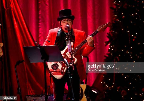 Musician Nicky Walusko of The Wondermints and the Brian Wilson band performs onstage at The Fonda Theatre on December 20, 2018 in Los Angeles,...