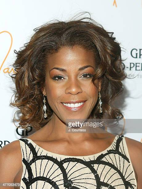 Musician Nicole Henry attends the We Are Family Foundation 2014 Gala at Hammerstein Ballroom on March 6 2014 in New York City