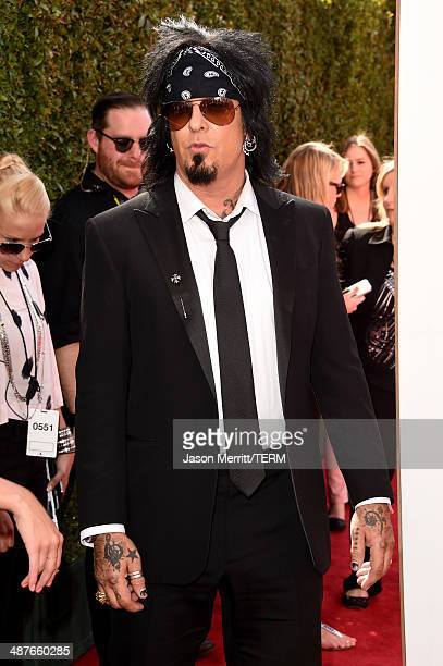 Musician Nikki Sixx attends the 2014 iHeartRadio Music Awards held at The Shrine Auditorium on May 1 2014 in Los Angeles California iHeartRadio Music...