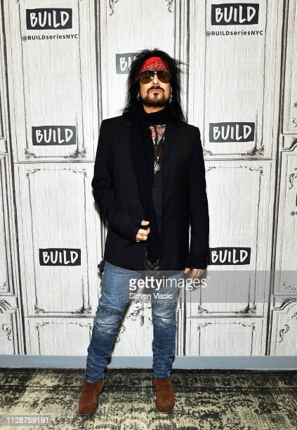 Musician Nikki SixxÊvisits Build Series to discuss Netflix's Mštley CrŸe biographical musical comedydrama The Dirt at Build Studio on March 5 2019 in...