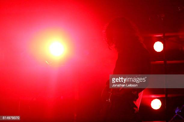 Musician Nikolai Fraiture of The Strokes performs onstage at Samsung Galaxy Life Fest at SXSW 2016 on March 11 2016 in Austin Texas