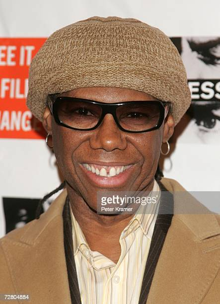 Musician Nile Rodgers attends the second annual gala dinner and concert to benefit Witness which helps promote human rights causes worldwide December...