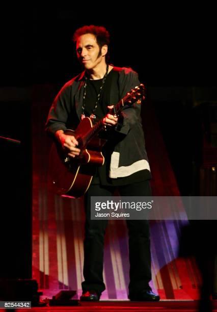 Musician Nils Lofgren performs at Sprint Center on August 24 2008 in Kansas City Missouri