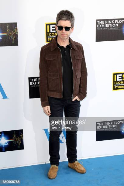 Musician Noel Gallagher attends the Pink Floyd Exhibition Their Mortal Remains at the VA on May 9 2017 in London England