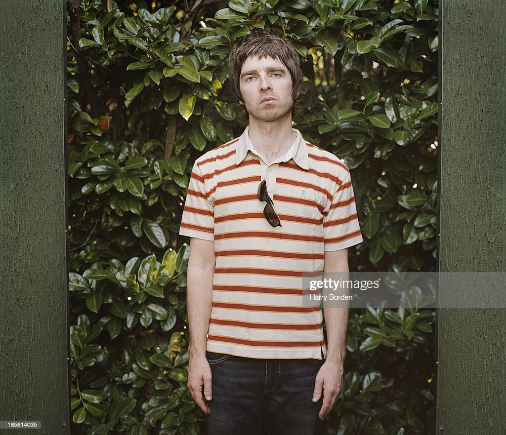 Musician Noel Gallagher is photographed for the Word on July 11, 2005 in London, England.
