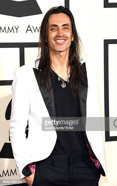 Musician Nuno Bettencourt attends The 57th Annual GRAMMY Awards at the STAPLES Center on February 8 2015 in Los Angeles California
