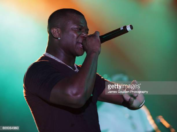 Musician Odis Oliver Flores AKA OT Genasis performs onstage at the Atlantic Records event during 2017 SXSW Conference and Festivals at Stubbs on...