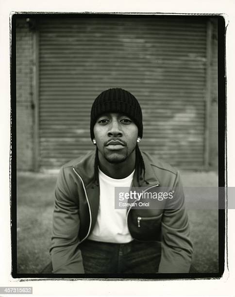 Musician Omarion poses for a Rime editorial in 2005 Downtown Los Angeles 2005