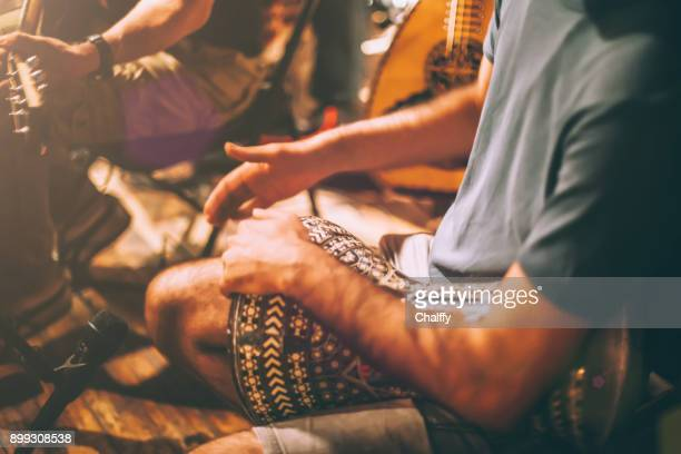 musician on a stage - musical instrument stock pictures, royalty-free photos & images