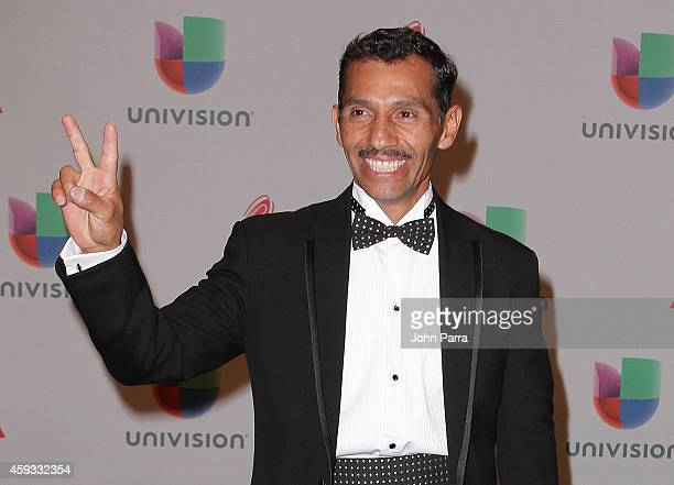 Musician Oscar Cruz attends the 15th annual Latin GRAMMY Awards at the MGM Grand Garden Arena on November 20 2014 in Las Vegas Nevada